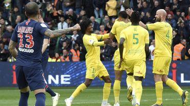 Le PSG battu par Nantes