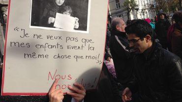 Les manifestants en appellent à la mise en place d'un moratoire sur toutes les expulsions vers l'Afghanistan.