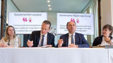 Un accord avait été signé en juillet 2018 sur les détails du transfert de compétences