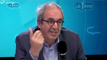 """Dirk Van Der Maelen: """"Claude Guéant était lemaître d'œuvre en France, tandis que les acteurs en Belgique étaient Armand De Decker, et l'avocate Catherine Degoul."""""""