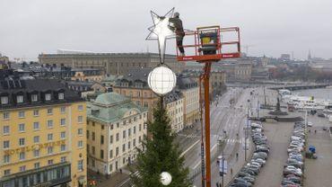 Suède: le dernier Noël blanc dans toute la Suède remonte à 2010