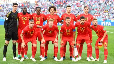 L'équipe nationale belge - Les Diables Rouges