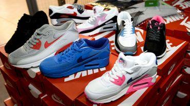 Les baskets et vêtements de sports font souvent l'objet de contrefaçons (photo prétexte) -