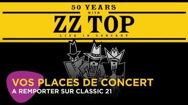 Fêtez les 50 ans de ZZ Top