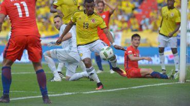 Farid Diaz remplace Frank Fabra dans l'équipe colombienne