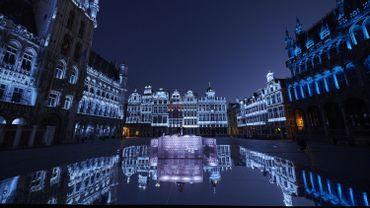 Un livestream impressionnant sur la Grand-Place pour récolter des dons