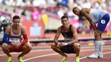 Kevin Borlée passe en demi-finale du 400m