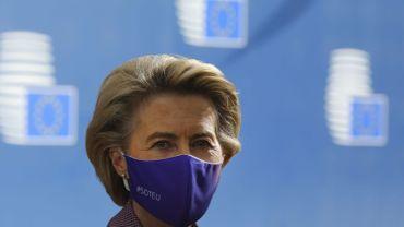 La présidente de la Commission européenne, l'Allemande Ursula von der Leyen, a quitté jeudi de manière précipitée le sommet européen.