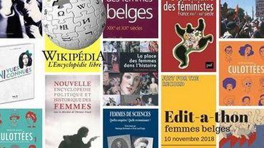 Edit-a-thon, le marathon d'édition d'articles sur Wikipédia, à propos de femmes belges et liégeoises