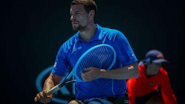 Joachim Gérard éliminé par le tenant du titre à Wimbledon