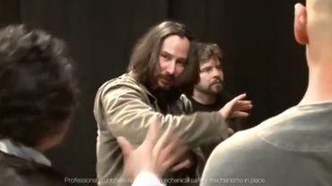 """Capture d'écran de """"Man of Tai Chi Keanu Reeves Proof of Concept Video"""""""