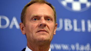 M. Tusk, président du Conseil européen, a appelé les 28 Etats membres à surmonter leurs profondes divergences face à l'afflux de migrants.