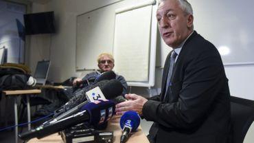 Eric Bouillard, le procureur de la république d'Angers (Maine-et-Loire) ce 09 février