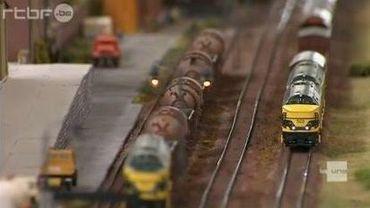 Des trains miniatures à Charleroi