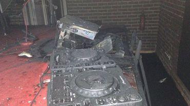 Les installations ont beaucoup souffert de l'incendie
