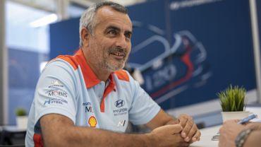 Alain Penasse, team manager de Hyundai
