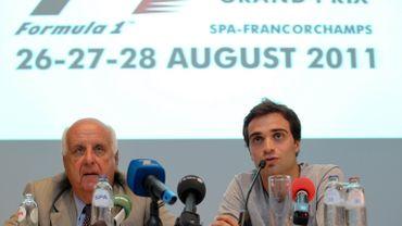 Les responsables du Grand Prix de Belgique sont optimistes