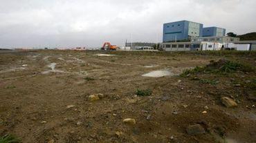 Un des sites de Hinkley Point, en Angleterre, où doivent être construits deux EPR par EDF, le 21 octobre 2013