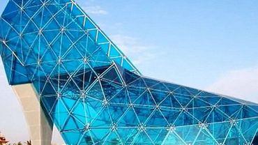 Taîwan: une église en forme de chaussure à talon (capture écran vidéo).