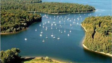 Le lacs de l'Eau d'Heure, le plus long littoral de Belgique !