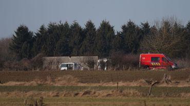Crash d'un avion sur le zoning de Aublain, dans la commune de Couvin