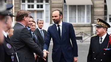 Le nouveau Premier ministre Edouard Philippe