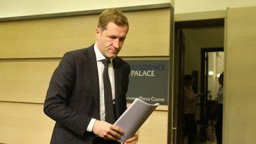"""Paul Magnette avait présenté cette """"Déclaration de Namur"""" ce lundi à Bruxelles."""