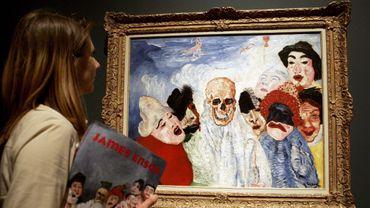"""""""La Mort et les masques"""", une oeuvre de James Ensor"""