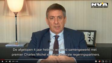 Jan Jambon défend le bilan de la suédoise et justifie le départ de la N-VA