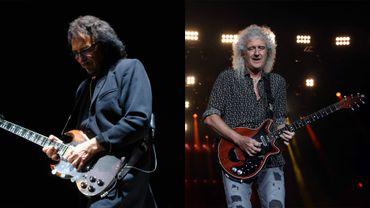Brian May et Tony iommi : peut-être entendrons-nous un jour leur collaboration ?