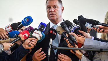 Roumanie: le président sortant, le pro-européen Iohannis, largement en tête au premier tour de la présidentielle