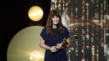 """Marina Hands a gagné le Molière de la comédienne d'un spectacle de théâtre public pour """"Actrice"""""""