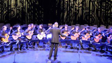 Ensemble de guitares du Conservatoire Royal de Bruxelles sous la direction de Hugues Navez