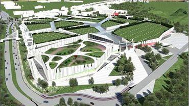 Le projet initial de Citta Verde présenté par le promoteur