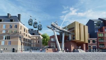Namur: feu vert pour la construction du téléphérique qui devrait commencer début 2020