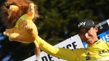 """Egan Bernal: """"On était inquiets car Gilbert pouvait prendre le maillot"""""""