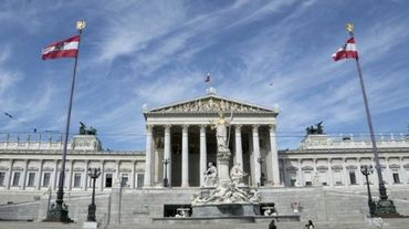 Le Parlement autrichien, le 22 avril 2015 à Vienne