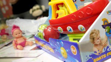 Les jouets représentent près d'un tiers des produits dangereux retirés du marché européen