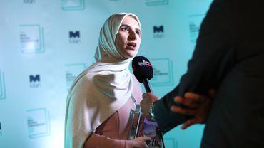 """L'Omanaise Jokha Alharthi a remporté mardi soir à Londres le prix littéraire Man Booker International, qui récompense une œuvre traduite en anglais, pour """"Celestial Bodies"""", un roman qualifié de """"subtil"""", """"lyrique"""" et """"profond"""" par le jury."""