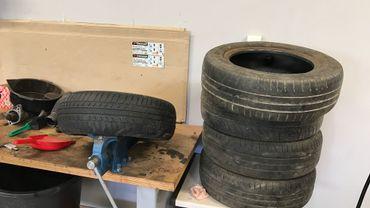 Pneus hiver et pneus été n'ont pas la même texture