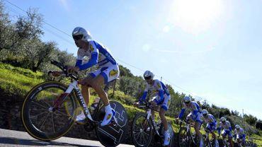 Topsport Vlaanderen-Baloise : un effectif de 25 coureurs en 2014