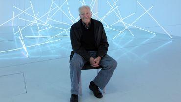 Le peintre et sculpteur Francois Morellet est mort à l'âge de 90 ans