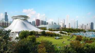Lucas Museum of Narrative Arts, MAD Architects ©Courtesy of Lucas Museum of Narrative Arts / MAD Architects