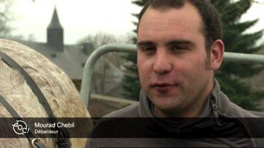Le portrait de la semaine: Mourad, l'un des derniers débardeurs de Wallonie