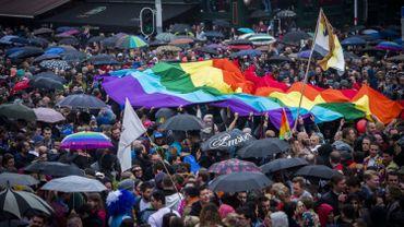Photo prise lors de la Pride 2015