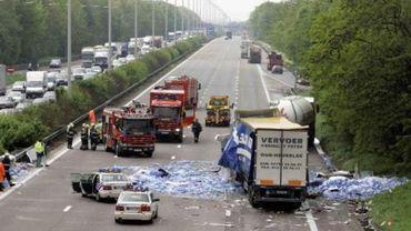 La Wallonie avait déjà enregistré de meilleurs résultats en 2014. Seule la Région bruxelloise enregistre une augmentation du nombre d'accidents (+3,1%).