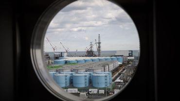 Vue sur le site nucléaire du Fukushima