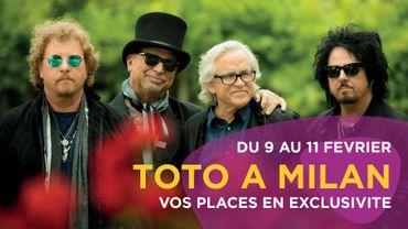Vos places pour TOTO à Milan