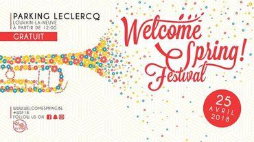 Le Welcome Spring! Festival vous donne rendez-vous le 25 avril!