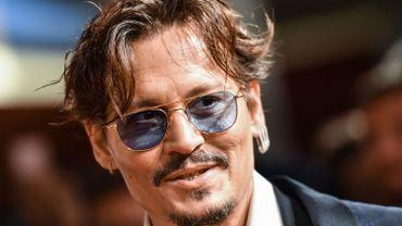 Johnny Depp à la Mostra 2019